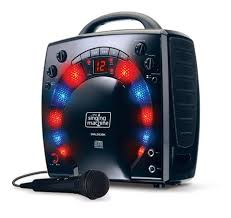 singing machine with disco lights singing machine sml283bk disco light karaoke machine walmart canada