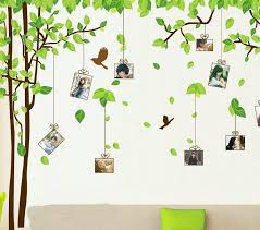 180 300cm green tree wall stickers movable wall stick family wall
