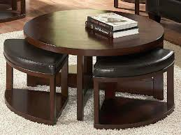 Coffee Table  Sofa Cool Table With Stools Underneath Design - Kitchen table with stools underneath