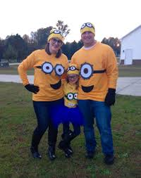 Disney Family Halloween Costume Ideas by Minion Family Diy Halloween Costumes Pinterest Costumes