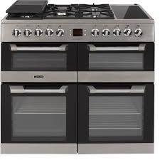 piano cuisine leisure cs100f520x piano de cuisson pas cher promo cuisinière