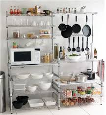 kitchen bookcase ideas the benefit in free standing kitchen shelves deco