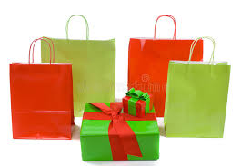 christmas shopping bags shopping bags and christmas gifts stock photo image of package
