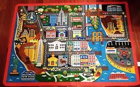 Area Rugs Nyc Tonka Truck New York City Play Mat Area Rug Nyc 31 X 44 Non