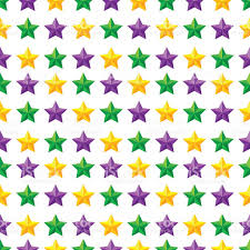 mardi gras material seamless pattern with mardi gras purple green and yellow stock