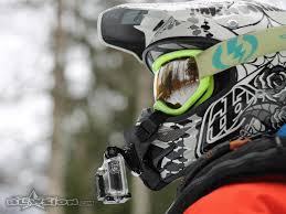 full face motocross helmets blowsion sopro full face gopro helmet mount