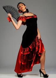 red spanish senorita costume