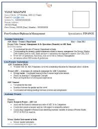 Mba Graduate Resume Sample by Over 10000 Cv And Resume Samples With Free Download 4 Mba Resume