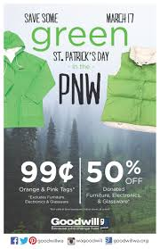 Goodwill Furniture Donation by St Patrick U0027s Day Sale Goodwill