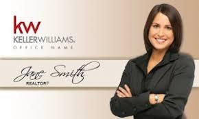 Keller Williams Business Cards Real Estate Business Card Magnet Template
