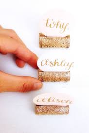 unique place cards best 25 wedding place card holders ideas on pinterest table