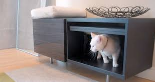 modern litter box cabinet customized cat litter box cover pets trends