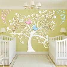 stickers arbre chambre enfant stickers chambre bébé arbre et fées un sticker mural exceptionnel