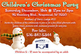 invitation letter for children s christmas party wedding