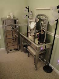 Silver Mirrored Bedroom Furniture Furniture Beautiful Mirrored Lingerie Chest For Your Bedroom