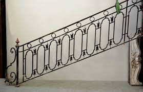 Banister Rail Cast Iron Banister With Brass Hand Rail Stairs And Banisters