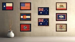australia country vintage flag home decor gift ideas wall art
