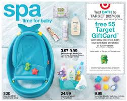 Bathtub Boogie Free 5 00 Target Gift Card W Baby Purchase At Target The