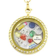 charm necklace images 1 teacher charm necklace locket kingdom png