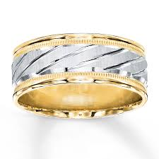 weddings 10k the center of this appealing 8mm wedding band showcases etched