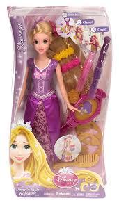 amazon disney princess draw u0027n style hair rapunzel doll toys