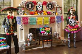 day of the dead decorations throw the ultimate day of the dead party party delights
