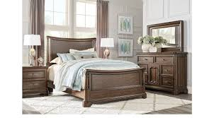 cherry sleigh bed notting hill cherry 5 pc queen sleigh bedroom traditional