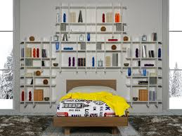 libreria ragazzi cameretta per ragazzi dotata di libreria idfdesign