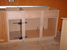 Building Kitchen Base Cabinets by How To Build A Kitchen Island Simple Diy Woodworking Project Apps
