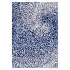 Blue Shaggy Rug Blue Wave Shag Rug Shades Of Light