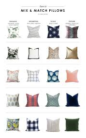 Where To Buy Sofa Pillows by How To Mix U0026 Match Pillows U2014 Studio Mcgee