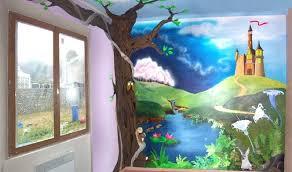 peinture pour chambre enfant peinture décorative personnalisée pour chambre d enfant info