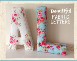 Decorative Wall Letters Nursery Wall Letter Etsy