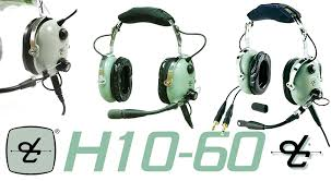 david clark h10 60 headset redback aviation