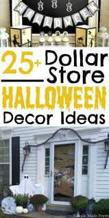 Frugal Home Decorating Ideas Spooky Decor On A Dime Dollar Store Halloween Cheap Halloween