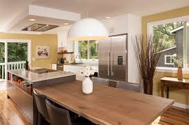 how to make a kitchen island with seating custom kitchen islands oregon seattle remodeling neil