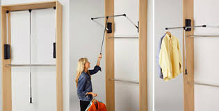 wardrobe lift from hafele closets pinterest small spaces