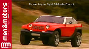 jeep jeepster 2015 chrysler jeepster stylish off roader concept youtube