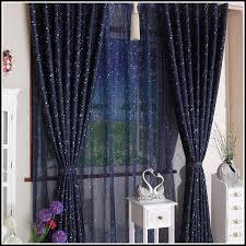 royal blue sheer curtain panelshome design ideas curtains home