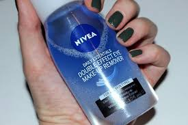 nivea double effect eye makeup remover review