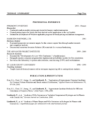 Example Of Resume With Experience by Engineer Resume Berathen Com