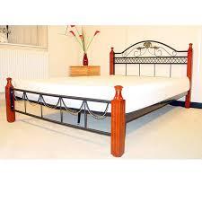 Bed Steel Frame Pop And Vintage Steel Bed Frame Inspirations Bedroom Antique White