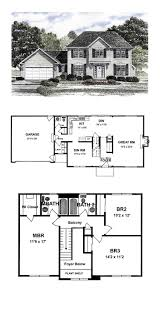 baby nursery colonial house plan best colonial house plans