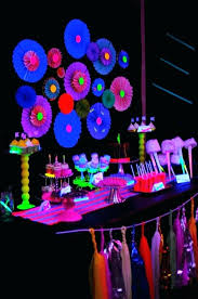 glow in the birthday party neon party ideas astronlabs co