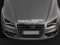 subaru windshield decal 1 x subaru sticker for windshield or back window white