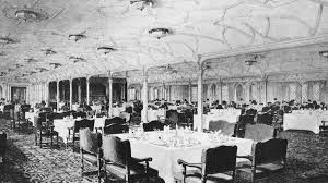 titanic first class dining room life on board cuisine titanic 100 years article national