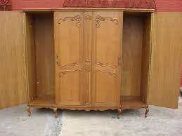 Palladia Wardrobe Armoire Select Cherry Finish Organise Your Belongings Properly With Wardrobe Closet