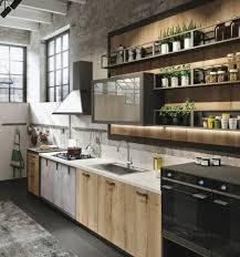 etagere meuble cuisine cuisine industrielle l élégance brute en 82 photos