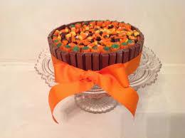 kit kat halloween candy swirly sweet cupcakes