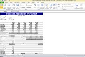Microsoft Excel Templates Free Business Acquisition Template For Excel